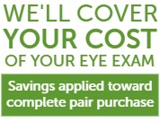pearle vision offer - Cover the Cost of Exam